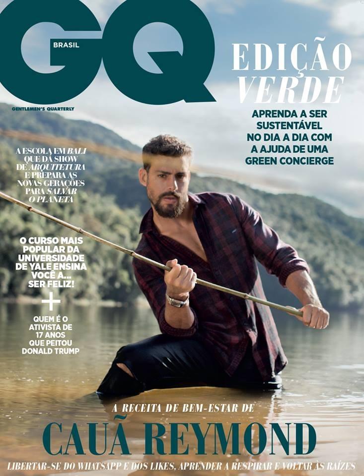 f0bb448242 Revista Gq Brasil   Caua Reymond Lindo Hot Tesao 2018 Nova! - R  24 ...