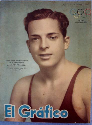 revista gráfico 1950