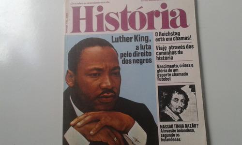 revista grandes acontecimentos da história 21 - luther king
