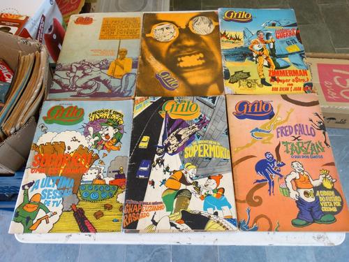 revista grilo! vários! r$ 25,00 cada! 1972-1973!