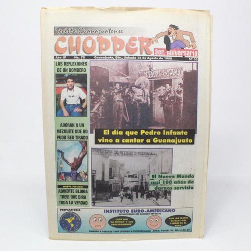 revista guanajuatense chopper año 4 no 75 1998 l4s