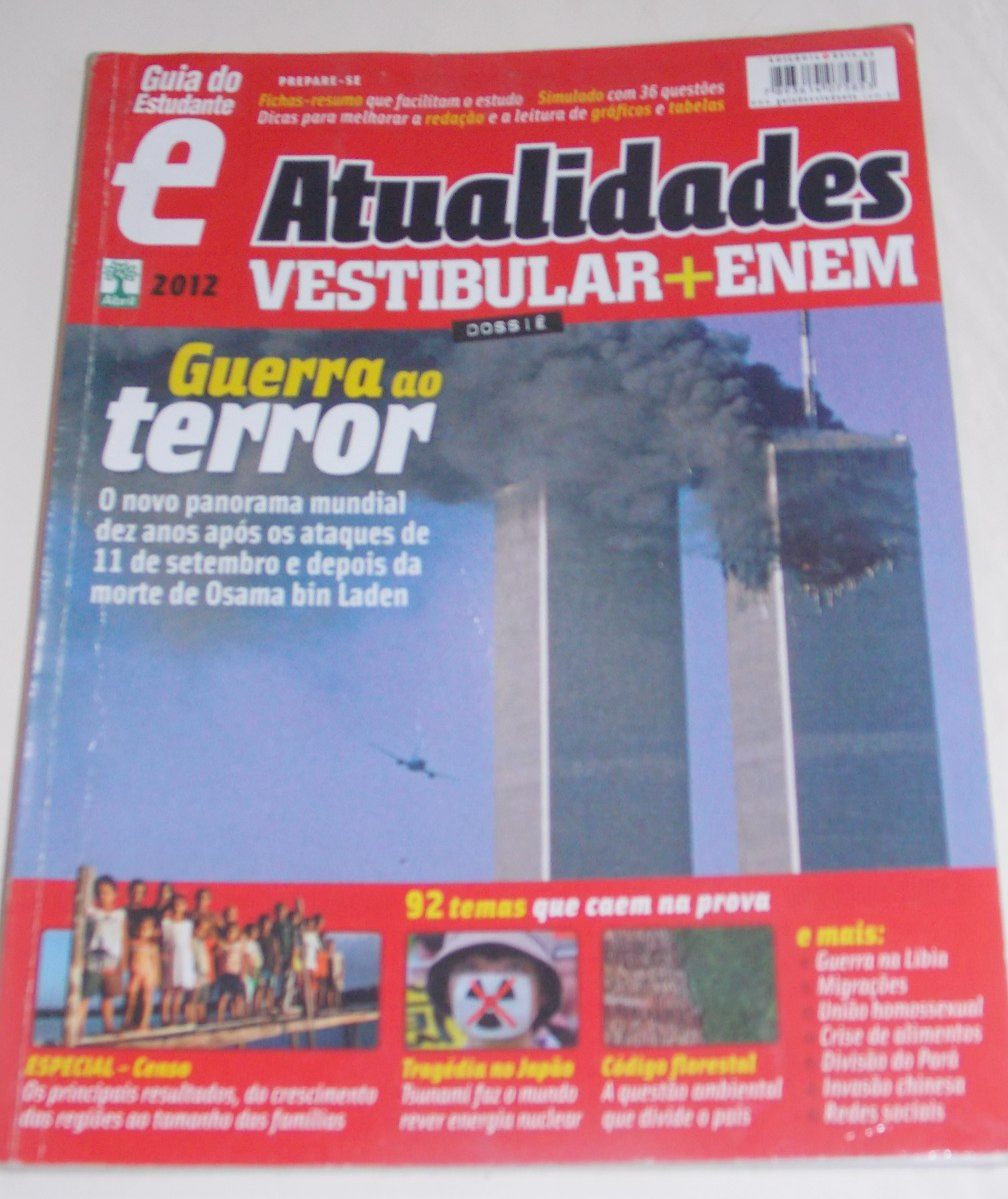 revista guia estudante atualidades 2012