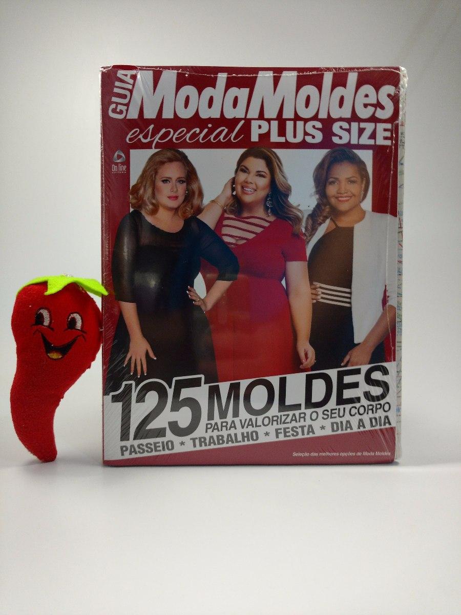 1e99b20af Revista Guia Moda Moldes Especial Plus Size (loja Do Zé) - R  29