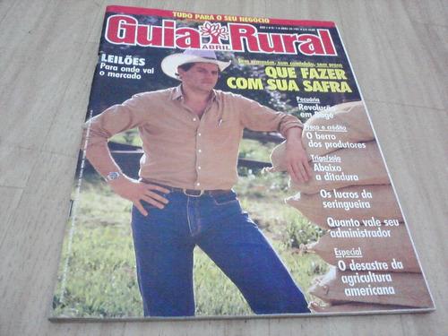 revista guia rural nº 01 - abril de 1987