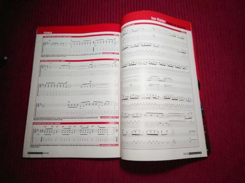 revista guitarra total + cd #51 iron maiden