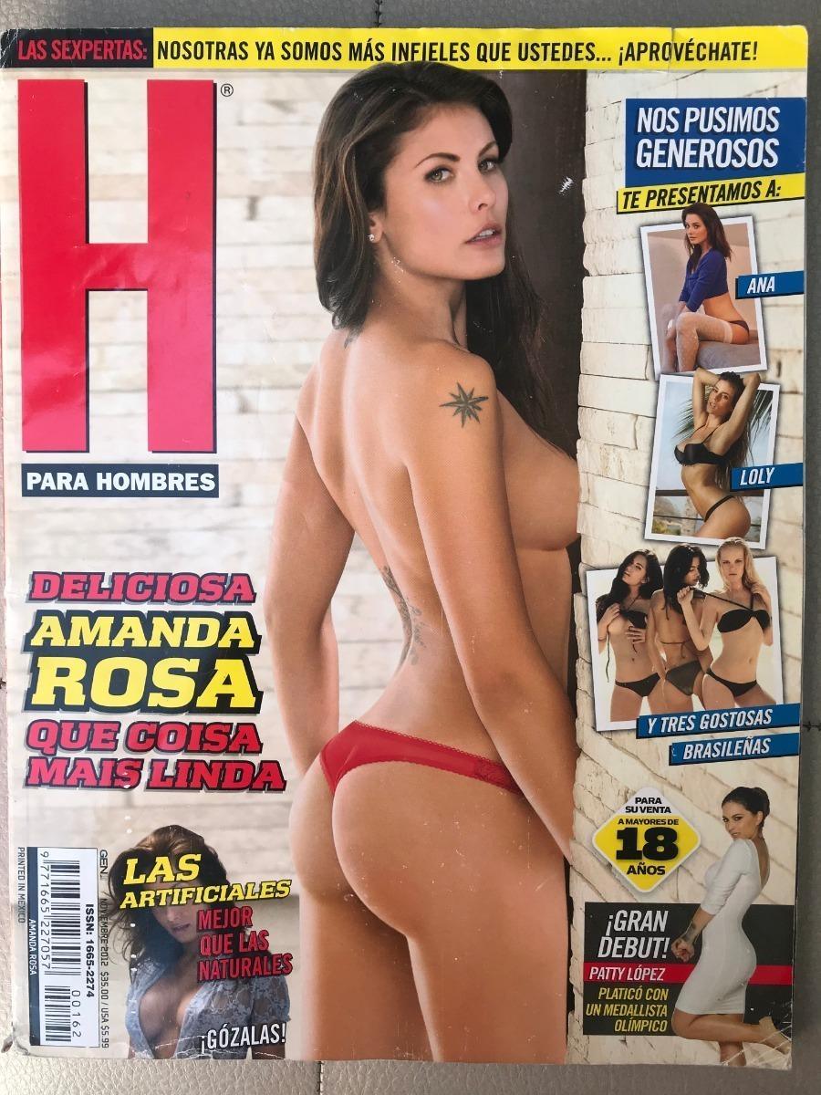 Amanda Rosa En H revista h amanda rosa - noviembre 2012 - $ 60.00