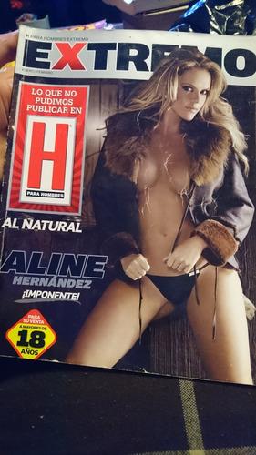 revista h extremo adultos aline hernández