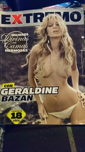 revista h extremo adultos geraldine bazan