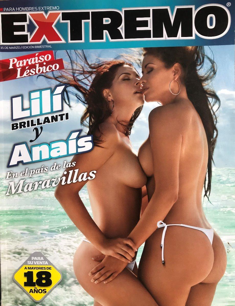 Anais Y Lili revista h extremo lilí brillanti y anaís - marzo 2010 - $ 120.00