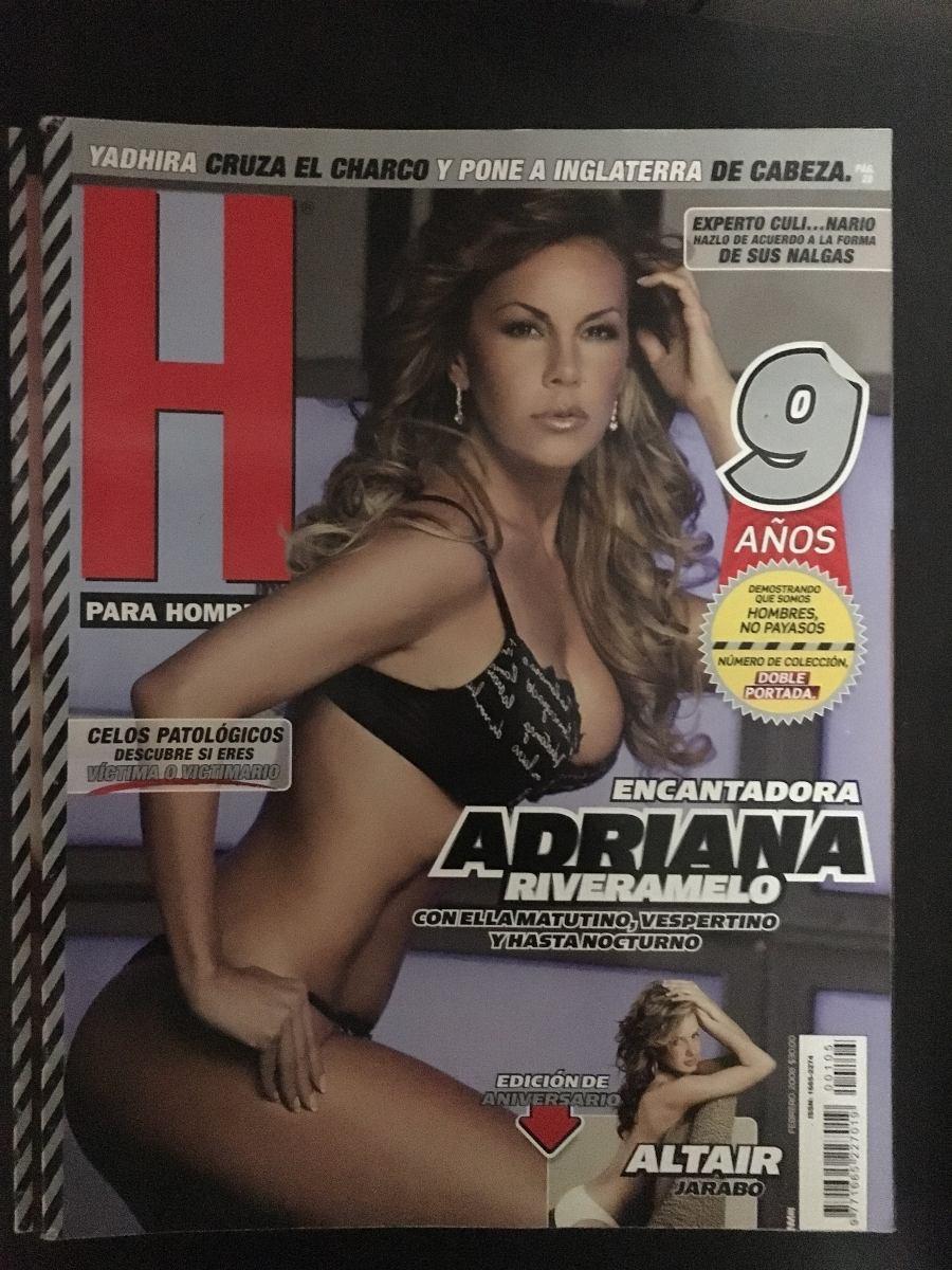 Altair Jarabo Revista H revista h para hombres adriana riveramelo y altair jarabo - $ 60.00