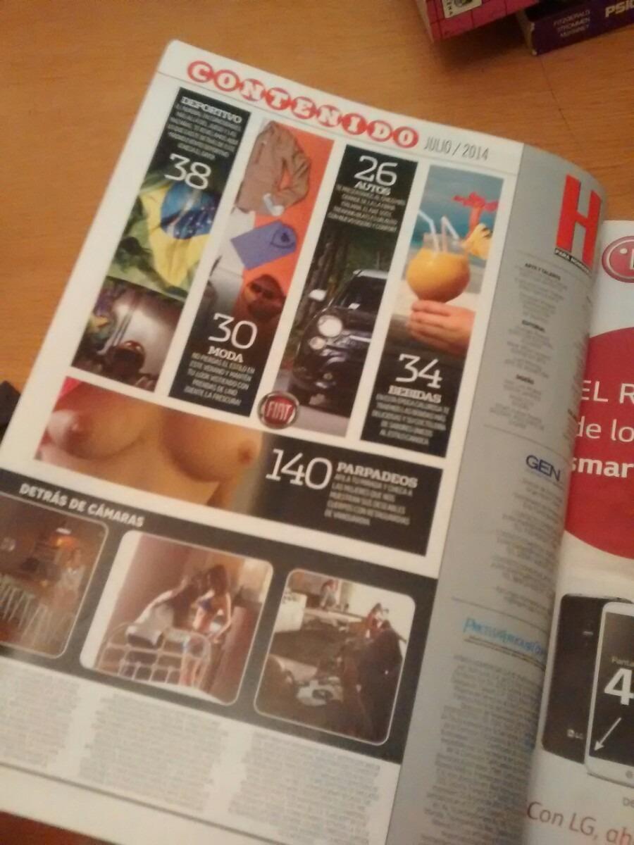 Amanda Rosa Revista revista h para hombres - amanda rosa - $ 111.00