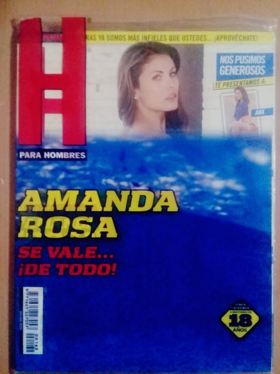 Amanda Rosa Revista revista h para hombres amanda rosa noviembre 2012