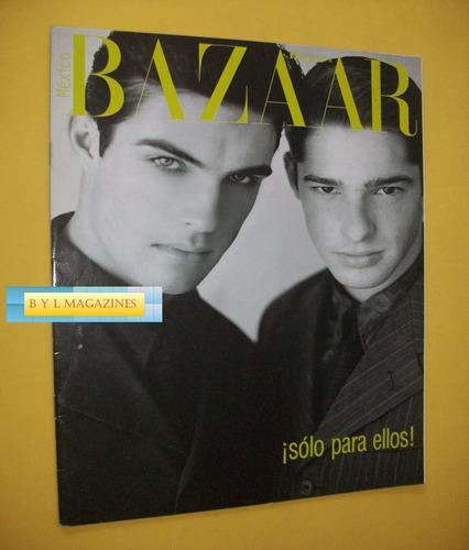 revista harpers bazaar men 1997 scott hornsby shawn andrus