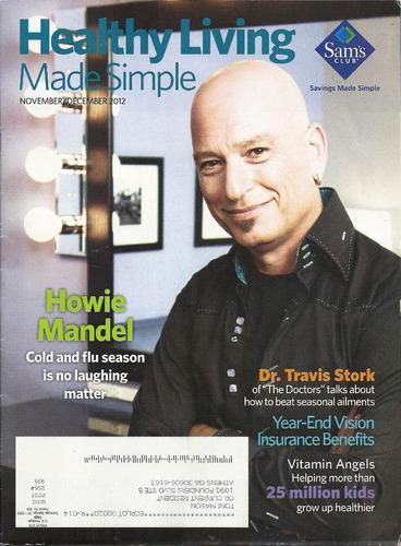 revista healthy living: howie mandel / dr. travis stork