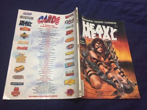 revista heavy metal ano 1 - nº 3  edição brasileira