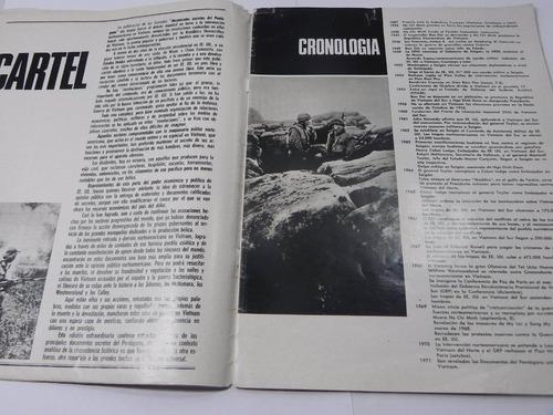 revista hechos mundiales quimantu secretos  pentagono 1971