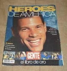 revista heroes de america boca campeon libertadores 2000