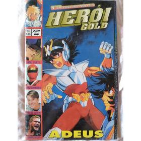Revista Herói Gold Nº 54 Cavaleiros Do Zodíaco Kakurangers