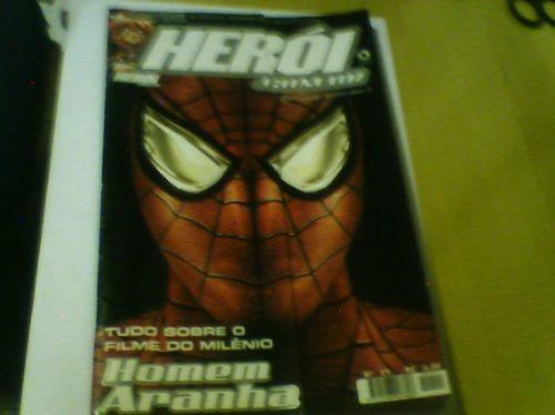 revista herói n°21 homem aranha