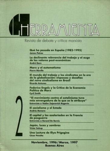 revista herramienta nº2 - octubre de 1996