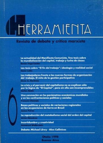 revista herramienta nº6 - marzo de 1998