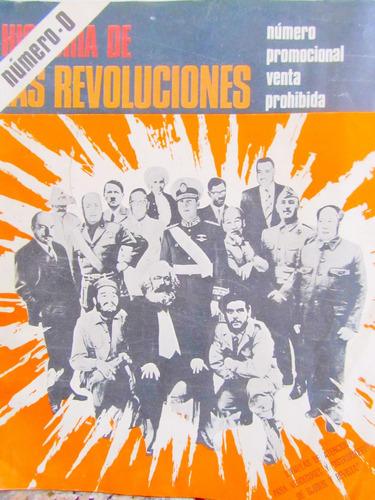 revista historia de las revoluciones numero 0 + gran poster