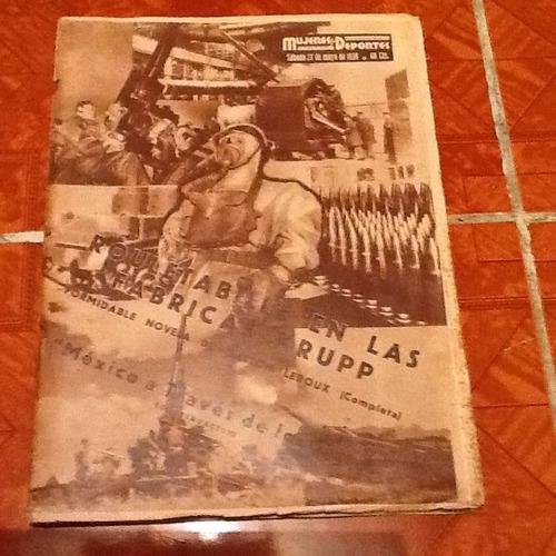revista histórica mujeres y deportes 1938  excelente