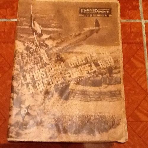 revista historica mujeres y deportes 1939