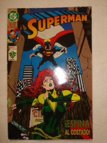 revista historieta superman nº226 1994 editorial vid