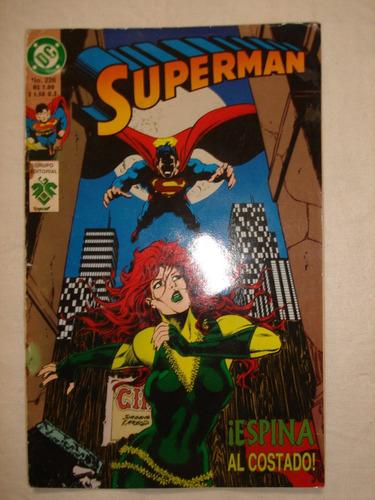 revista historieta superman nº226 1994 editorial vid