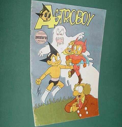 revista historietas astroboy 36 coleccion infantil nima