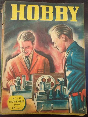 revista hobby nº 159 noviembre 1949