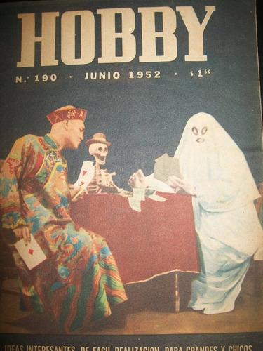 revista hobby nro 190 junio 1952