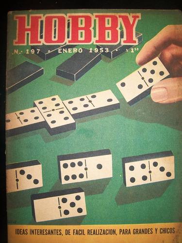 revista hobby nro 197 enero 1953