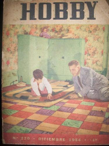 revista hobby nro 220 diciembre 1954