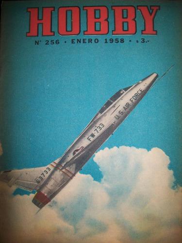 revista hobby nro 256 enero 1958