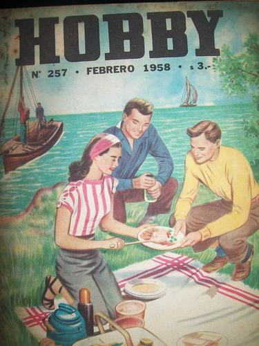 revista hobby nro 257 febrero 1958