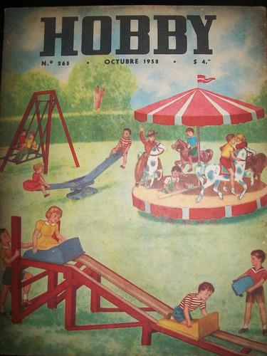 revista hobby nro 265 octubre 1958