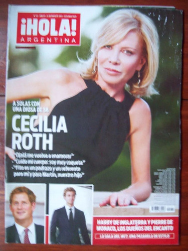 revista hola 131 14/5/13 c roth madonna j awada a frigerio