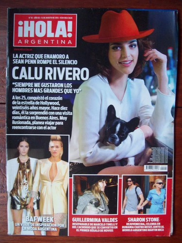 revista hola 92 c rivero g valdes s stone palacio acevedo