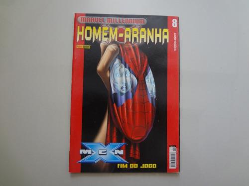 revista homem-aranha nº 8 ago/2002