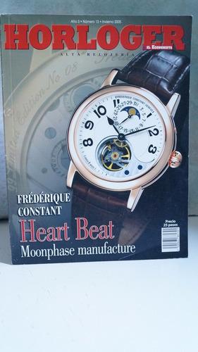 revista horloger alta relojeria