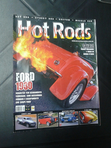 revista hot rods ford 1930