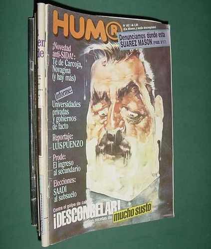 revista humor - 162 - nov85 - luis puenzo