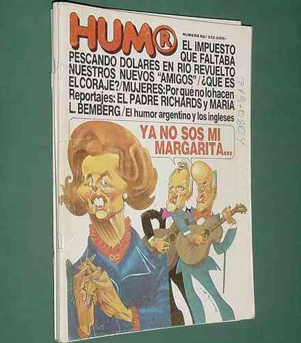 revista humor - 184 - 28oct86 - kike sanzol adrian freijo