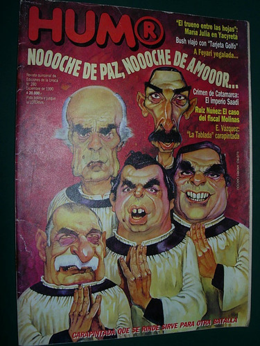 revista humor 280 joaquin sabina julio godio molinas vazquez