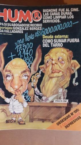 revista humor, nº 100,  argentina