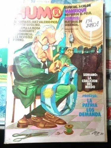 revista humor. n. 116