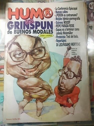 revista humor. n. 143