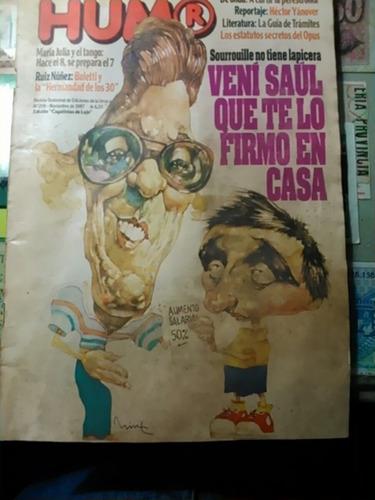revista humor. n. 209